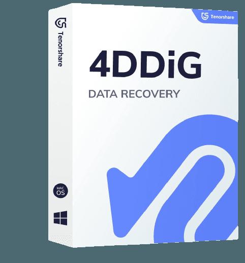 4DDiG - Mac/Windows Recuperação de Dados