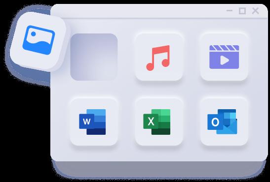 4ddig suporta a recuperação de todos os arquivos no PC e Mac