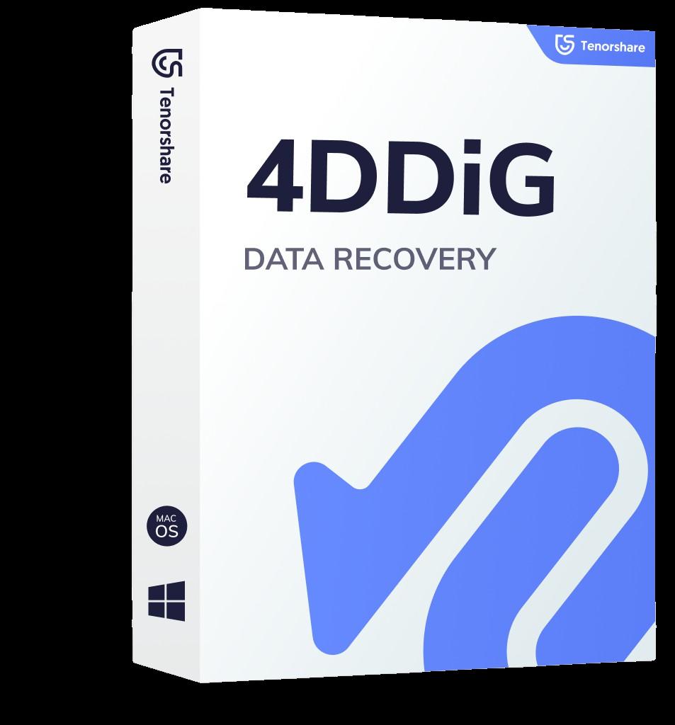 4DDiG - Mac/Windows Data Recovery