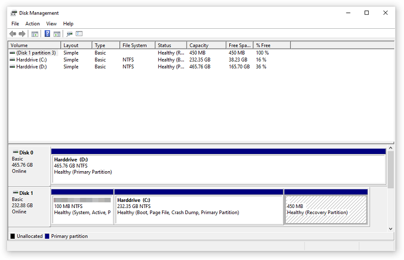 how to format SD card in Windows using Disk Management