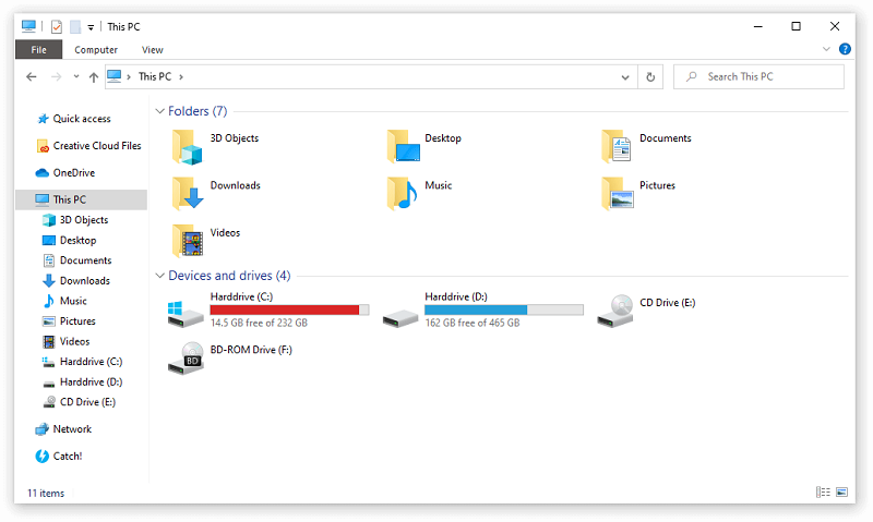 how to format SD card in Windows using Files Explorer